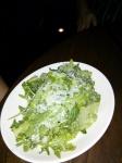 Side dish: Farmer's Market Arugula, Lemon, CA Olive Oil, Paremesan $6