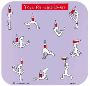 Wine-yoga